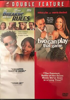 Breakin' All the Rules - Two Can Play That Game (2 discs) NEW Sealed Jamie Fox
