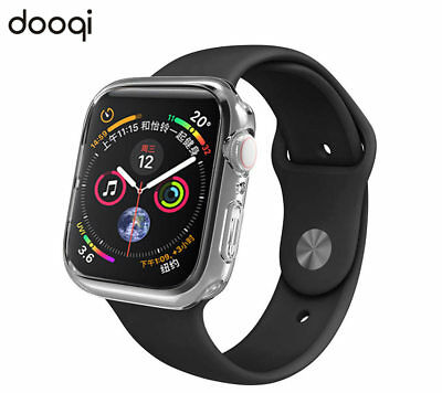 Silicone TPU Bumper Protective Cover Case For Apple Watch Series 4 40mm / 44mm