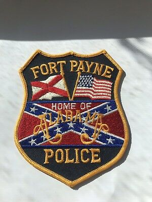 Alabama Police Patch Collectable Fort Payne
