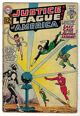 DC Comics JUSTICE LEAGUE OF AMERICA The World's Greatest Superheroes No 12 VG-