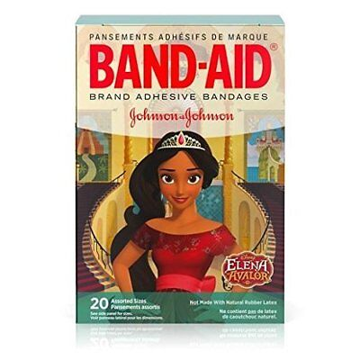 Band-Aid Adhesive Bandages, Disney Junior's Elena of Avalor, 20 Bandages...