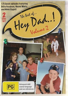 Hey Dad The Best Of Vol 2 Two Disc Set New And Sealed AUSTRALIAN MOVIE