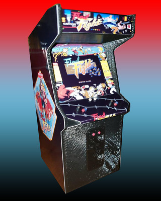 Mini Final Fight Arcade Cabinet Collectible Display