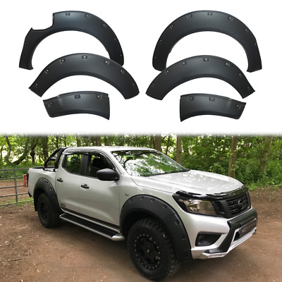 MATTE BLACK XO Wide Arch Kit / Fender Flares For Nissan Navara NP300