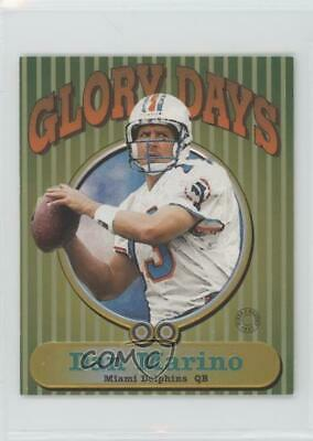 1997 Fleer Goudey II Glory Days #8GD Dan Marino Miami Dolphins Football Card