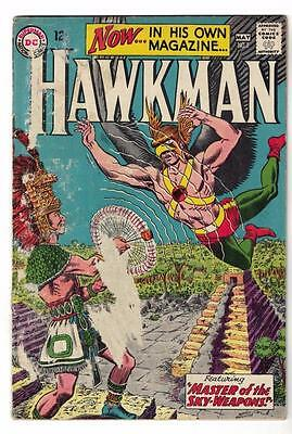 DC Comic HAWKMAN Silver age #1  Nice issue superman justice league  VG-