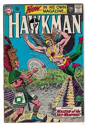 DC Comic HAWKMAN Silver age #1 Master of the Sky-Weapons justice league  FN-