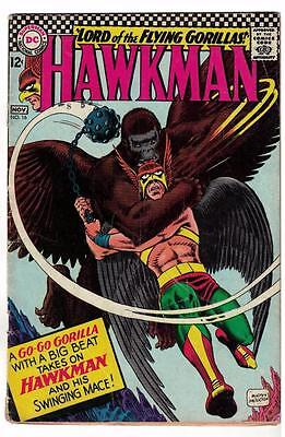 DC Comic HAWKMAN Silver age #16  Nice issue superman justice league  VG-