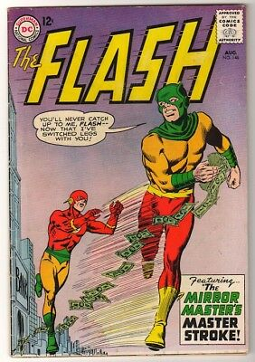 DC COMICS 146 FLASH silver age 1964 JLA Glossy cover FN- 6.5 Glossy cover