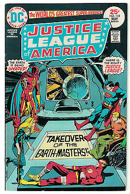 DC Comics JUSTICE LEAGUE OF AMERICA The World's Greatest Superheroes No 118 FN+