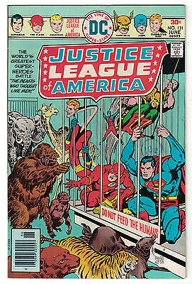 DC Comics JUSTICE LEAGUE OF AMERICA The World's Greatest Superheroes No 131 F/VF