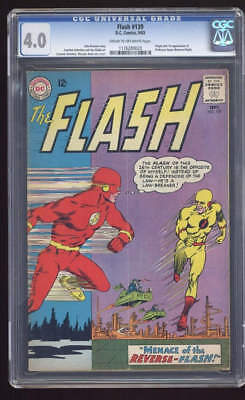 DC COMICS Flash 1st Reversed CGC 4.0 Silver age 1963
