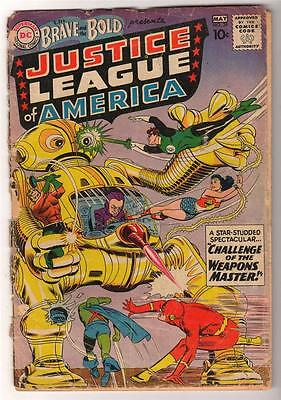 DC Comics G- 1.5 BRAVE AND THE BOLD 2nd  app JUSTICE LEAGUE AMERICA  #30