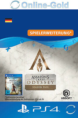 [PS4]Assassin's Creed Odyssey Season Pass - PlayStation 4 DLC - Nur für DE Konto