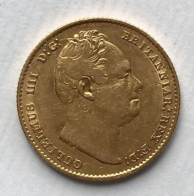 1837 King William IV Gold  Sovereign