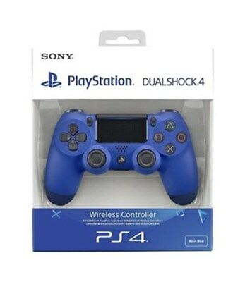 Dualshock 4  Wireless Controller Wave Blu Accessori PS4