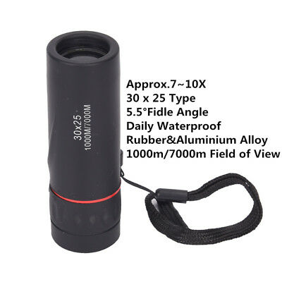 30X25 Portable Telescope Mini Optical Spotting Scope Monocular Easy Focusing Z
