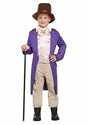 Chocolate Factory Boy Charlie Child Fancy Dress Dressing Up Outfit Costume NEW