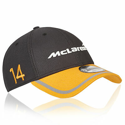 McLaren Official 2018 Fernando Alonso Cap Hat Headwear New Era 9FORTY Kids