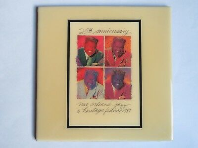 Festival TILE ~ New Orleans Jazz & Heritage Fest ~ Art4Now ~ 1989 Fats Domino