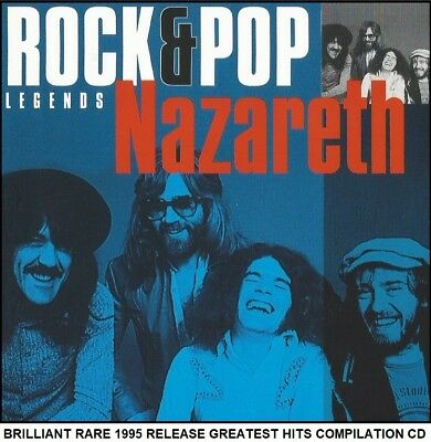 Nazareth - The Very Best Greatest Hits Collection - RARE Rock Metal Pop CD