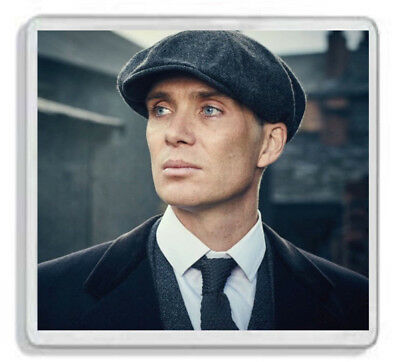 Cillian Murphy (Tommy Shelby - Peaky Blinders) Drinks Coaster *Great Gift!*