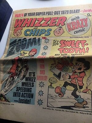 Whizzer and Chips Comic 3 February 1979