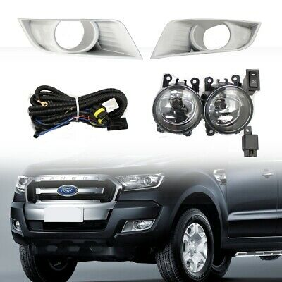 Ford Ranger T6 2016+ Fog Light Kit - XLT & XL Models - Upgrade or Replacement