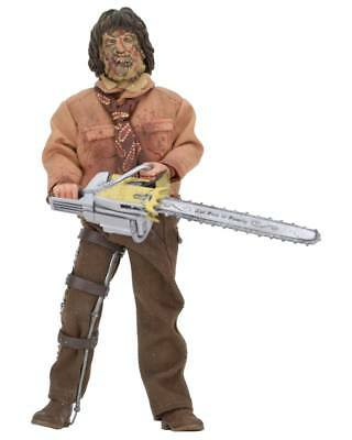 TEXAS CHAINSAW MASSACRE III Leatherface clothed Actionfigur NECA Neu (L)