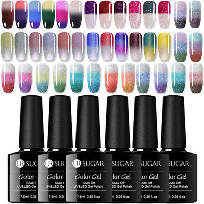 UR SUGAR Nail Art Smalto Gel UV Termico Color Changing UV Gel Polish Soak off