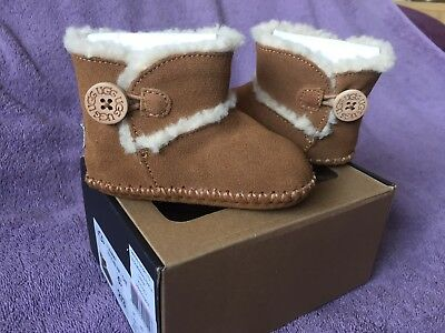 Ugg Baby Lemmy Boots BNIB, Infant Size 2/3, 6-12 Months