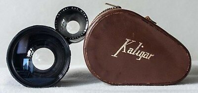 Kaligar Aux Wide Angle Lens for 6X6 TLR - Yashica, Rollei etc with case