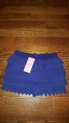 jessica simpson 2T lace girls navy shorts