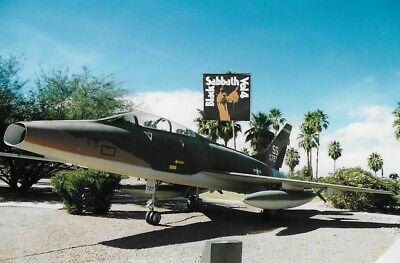 Original aircraft negative F-100F 56-727 309th TFS