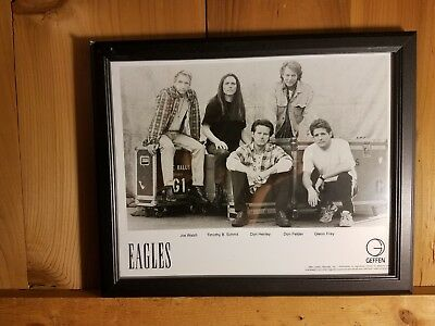 EAGLES record label issued 8x10 photograph