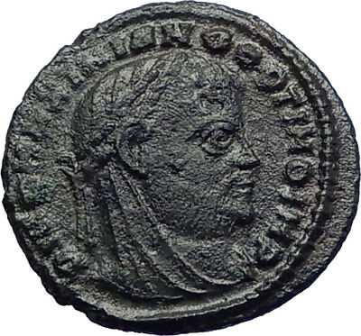 MAXIMIAN 317AD Posthumous under Constantine the Great Ancient Roman Coin i73206