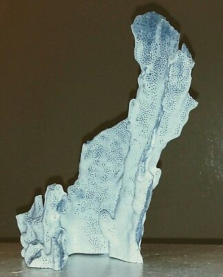 """1 piece Blue Coral reef, Coral is 8.5"""" ×4"""" Beautiful piece of coral."""