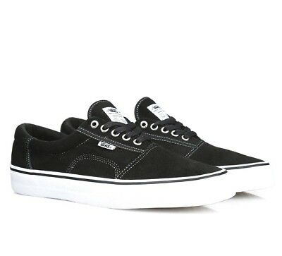 Vans Rowley Solos Black White Pewter UltraCush Skate Shoes Mens Size 7 1ade9dff5