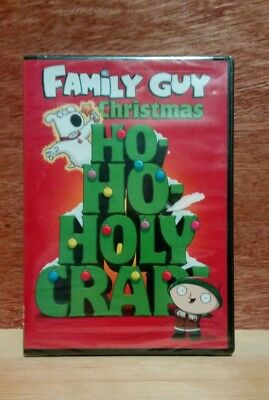 brand new sealed family guy christmas ho ho holy crap dvd