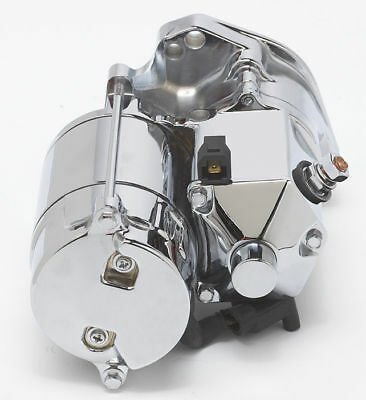 Ultima 1.75kw Side Post Chrome Thunderfire Heavy Duty Starter for 89-06 Big Twin
