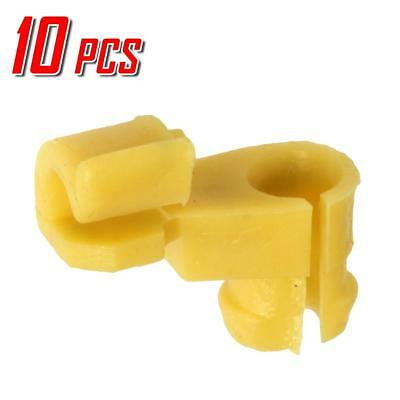 10 x Driver Left Door Lock 5mm Rod Size Clip 8.5mm Hose for Toyota