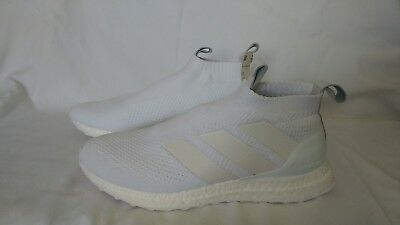 low priced 679f0 37088 Adidas ACE 16+ Purecontrol Ultra boost New Size 9 Triple White Ultraboost