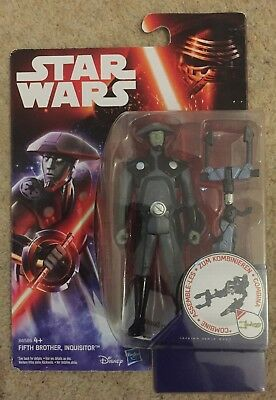 Star Wars Rebels Fifth Brother Inquisitor New