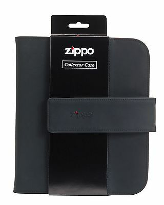 """Zippo """"Collector's Case"""", Holds 8 Standard Lighters,  Strap, 142653"""