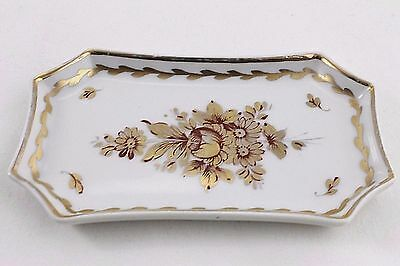 DECOR MAIN LIMOGE FRANCE TRINKET PIN or CALLING CARD TRAY (#2)