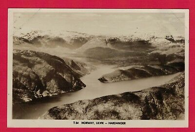 Norway, Ulvik - Hardanger.  Real Photograph Canadian Pacific Cruise (ref h45)