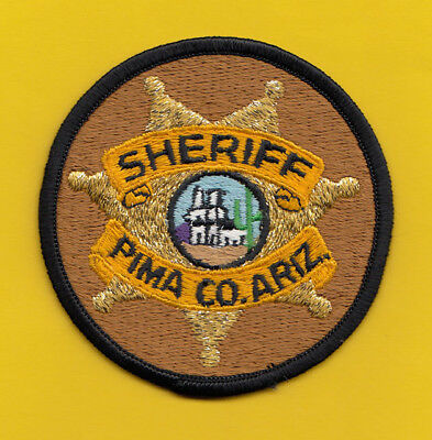 H34 * Older Rare Pima County Sheriff Tucson State Police Patch