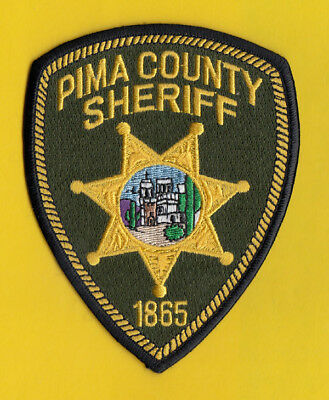 H27 * Pima County Sheriff Tucson State Police Patch Green 1865