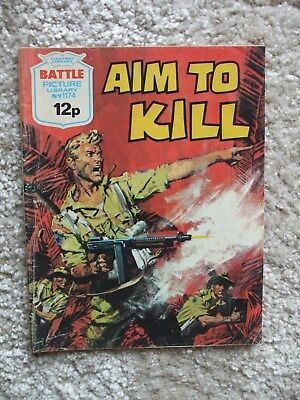 Battle Picture Library No.1174 - Aim To Kill (1978)