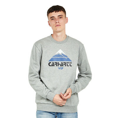 Carhartt WIP - Mountain Sweat Grey Heather Pullover Rundhals
